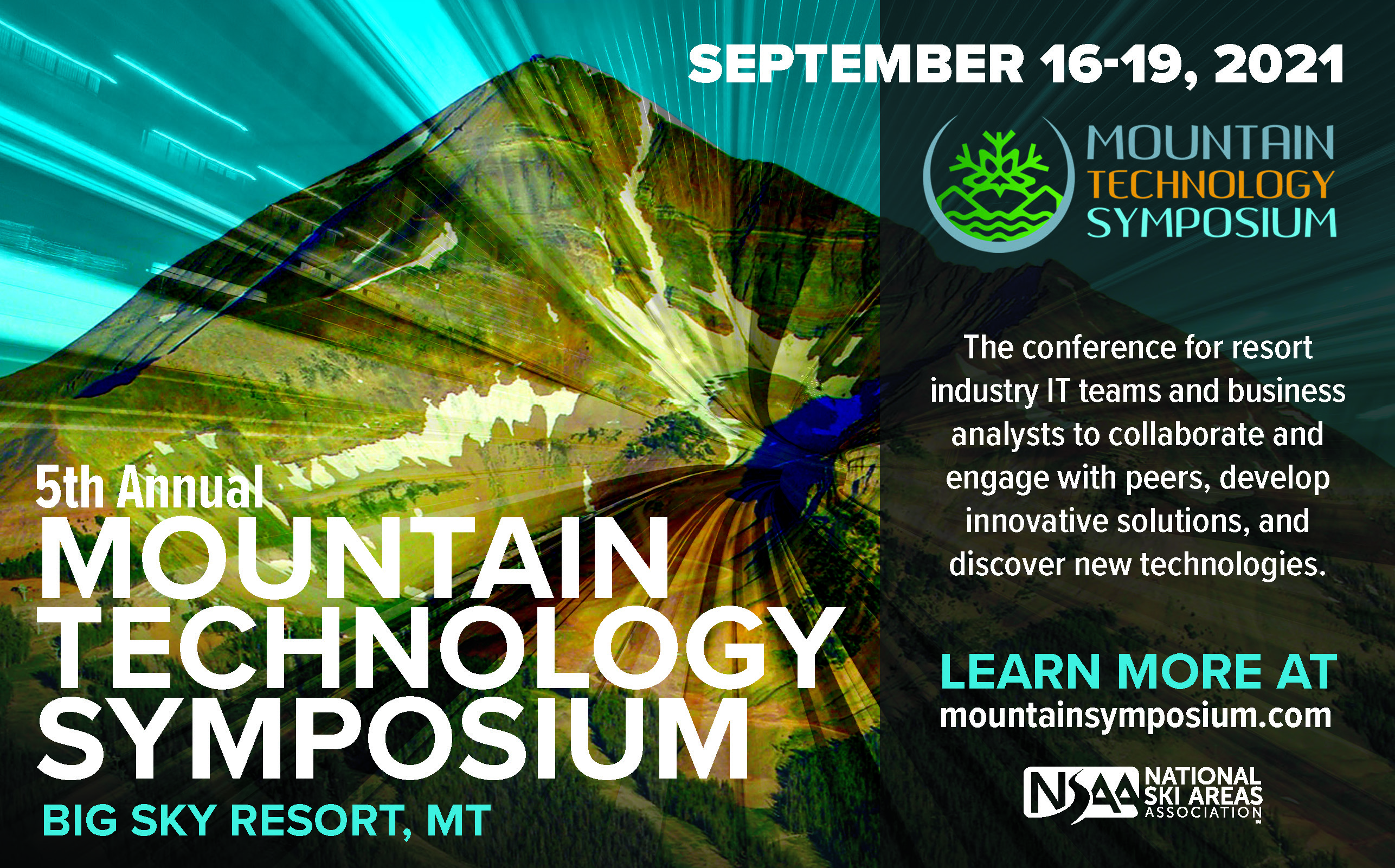 Mountain Technology Symposium flyer